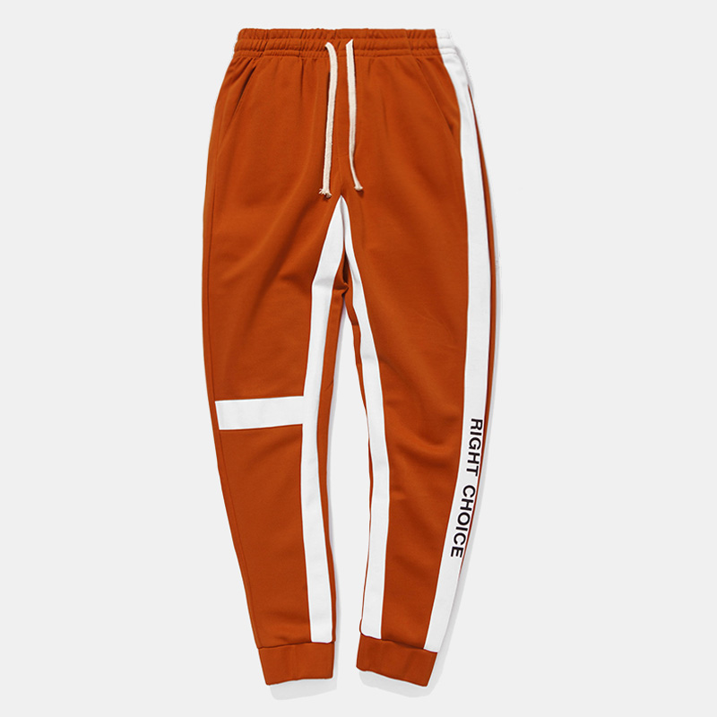 Hfnf2019 Brand Clothing Casual Men's Sports Pants Street Clothing Printing Pattern Cotton Fashion Hip Hop Males Sweatpants