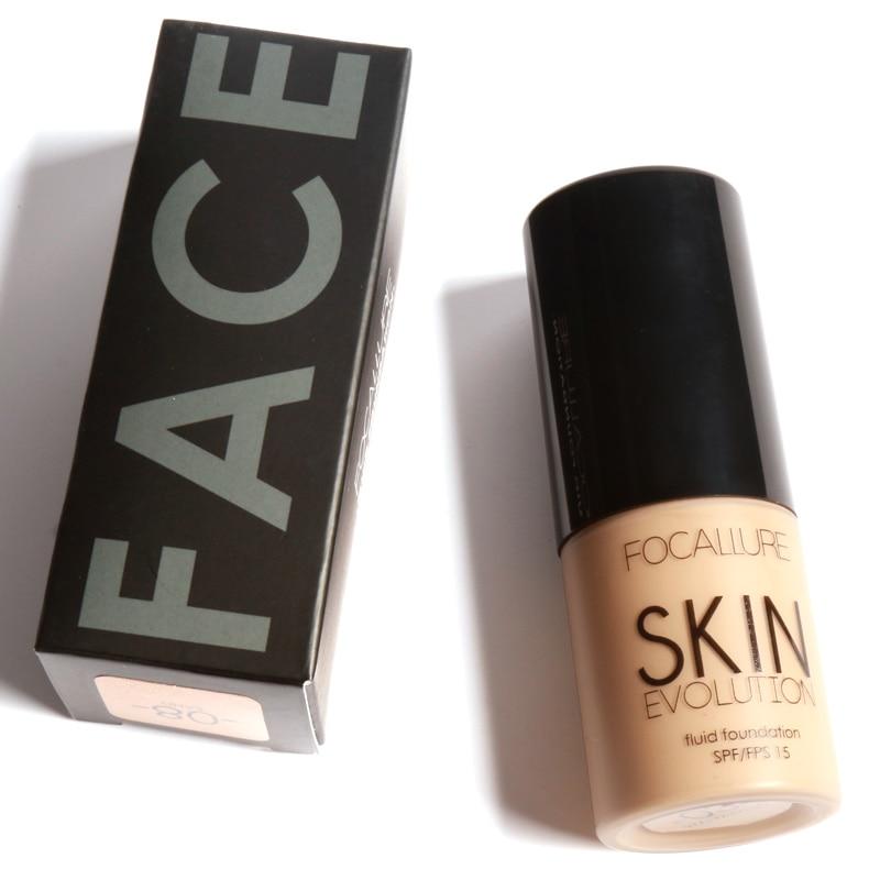 Focallure Face Foundation Base Makeup Liquid BB Cream Concealer 30ML Oil Control BB Cream Primer Face Contour Nude Foundation цена и фото