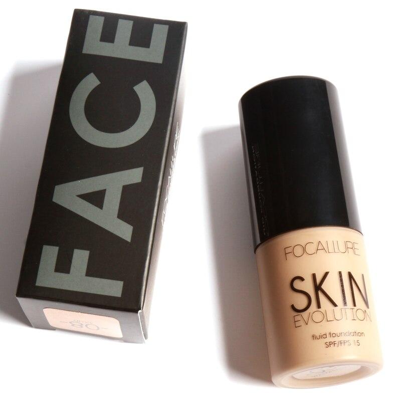 Focallure Face Foundation Base Makeup Liquid BB Cream Concealer 30ML Oil Control BB Cream Primer Face Contour Nude Foundation