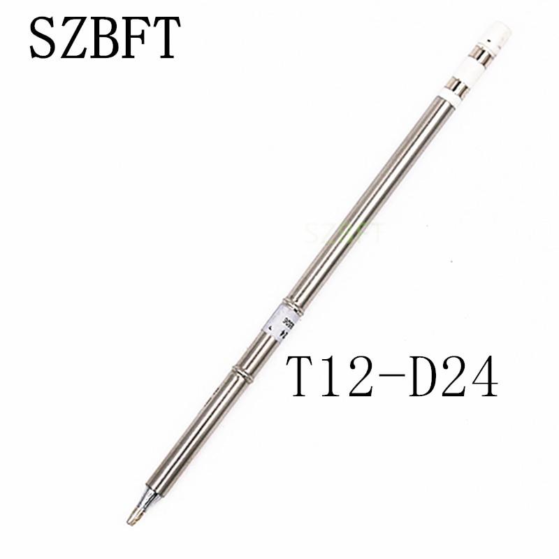 SZBFT T12 sorozatú forrasztható vas hegy T12-D24 B B2 B4 BC1 BC2 BC3 forrasztási javító állomáshoz FX-951 FX-952