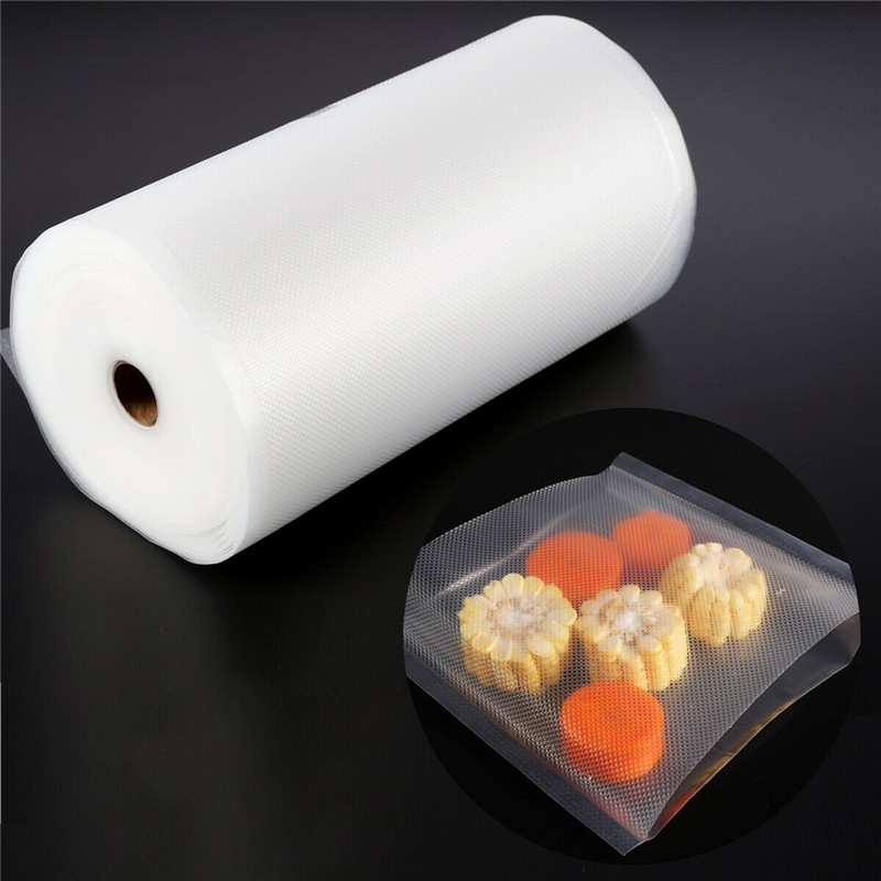 1 Roll 28cm 30M Saran Wrap Of Vacuum Sealer General Food Saver Bag Food Storage Bags Packaging Film Keep Fresh Good Sealing in Saran Wrap Plastic Bags from Home Garden