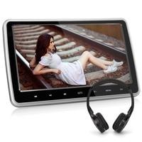 Pumpkin 10.1'' Black Car Headrest DVD Player HD Digital TFT Screen With HDMI Port Car Monitor Support Wireless Headphone Games