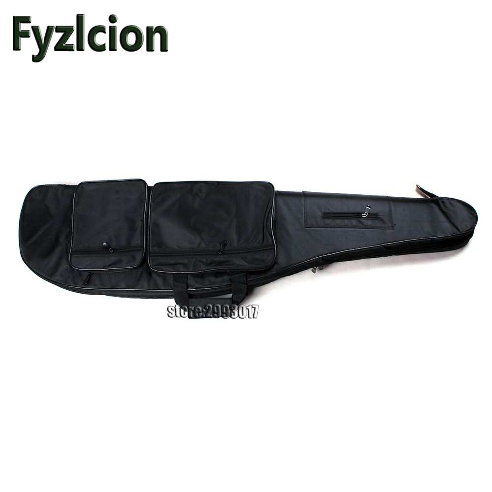 Fyzlcion  Shotgun Carrying Tactical Hunting Rifle Bags Synthetic Leather Gun Protection Case Holsters free shipping 47 tactical hunting padded rifle sniper gun sling carrying case black