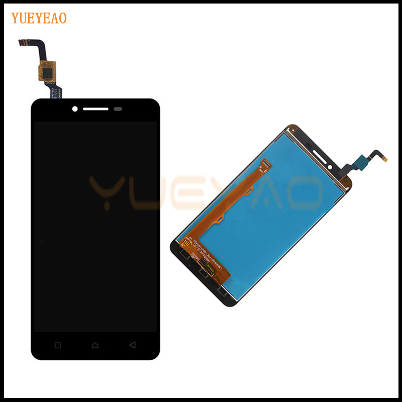 YUEYAO For Lenovo K5 A6020A40 LCD Display Touch Screen Sensor Complete Display +Touch Panel Digitizer Assembly Repalcement Parts