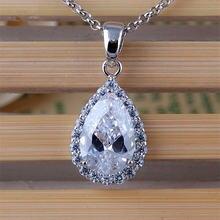 Rongqing 1 шт/лот ожерелье с подвеской в виде капель воды из