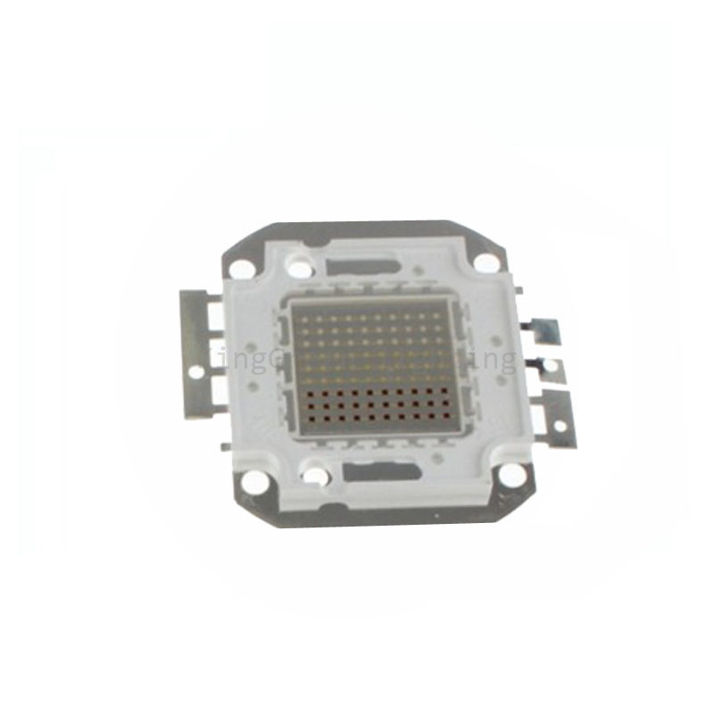 50X Wholesale 90W high power RGB LED light source high quality 100W led beads free shipping