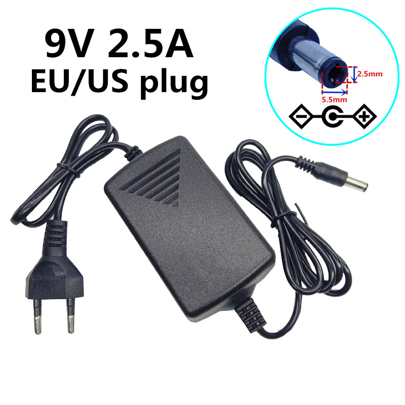 6V DC 2.5A AC Adapter Wall Home Charger Power Supply Cord 5.5x2.5mm New 2500mA