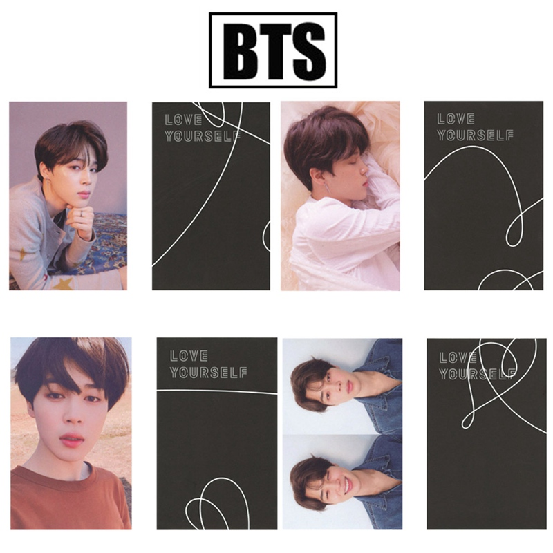 Korean POP BTS Bangtan Boys Love Yourself Tear Album Photo Card New Fashion Photocard ...