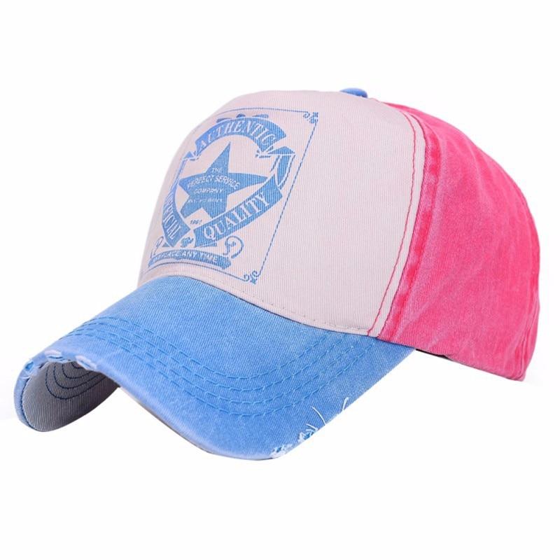 Moda Yaz Klassik Kişilər Qadın Məktub Çap Şapka Açıq İdman - Geyim aksesuarları - Fotoqrafiya 4