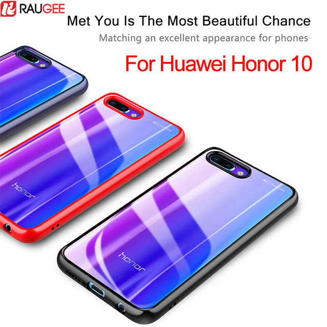 brand new b4db0 87568 US $4.99 |For Huawei Honor 10 Case Cover For Huawei Honor 10 Luxury Armor  Bumper Transparent PC+TPU Hybrid Protective Case For Honor 10-in Fitted ...