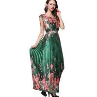 かわいいプラスサイズ夏ドレス女