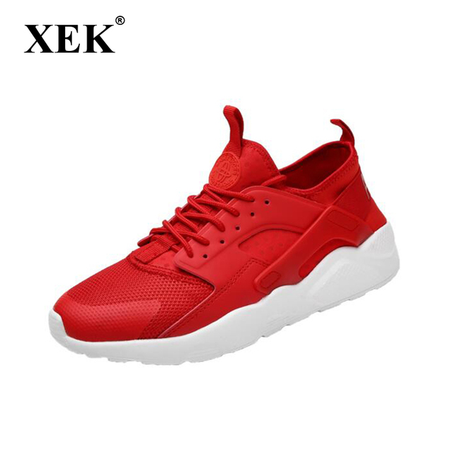 XEK 2018 New Athletic Trainers Running Shoes For Mens Sneakers Men Gym  Sports Shoes Breathable Walking 62d5e5ec2fe