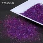 10g Purple Holo Ultrafine Nail Art Glitter Dust Holographic Nail Beauty Glitter Powder DIY Manicure Nails Decorations WY538