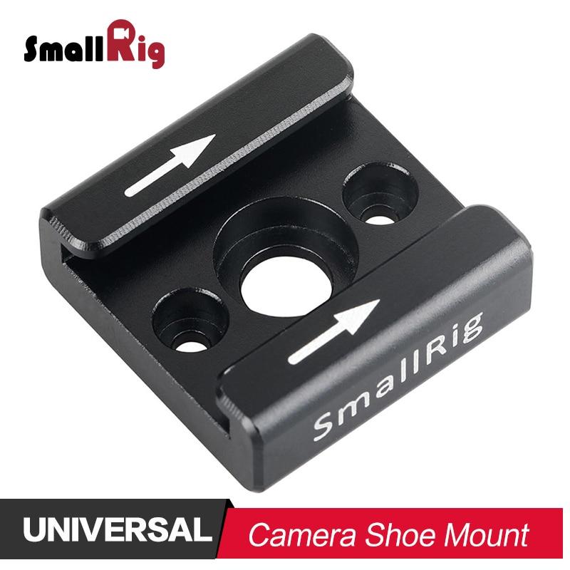 Adaptar com 1 e 4 Furos de Rosca para Monitor Monitor de Vídeo Flash de Luz Câmera Dslr Smallrig Sapato Frio Montar de Vídeo Apoio Micorphone 1241
