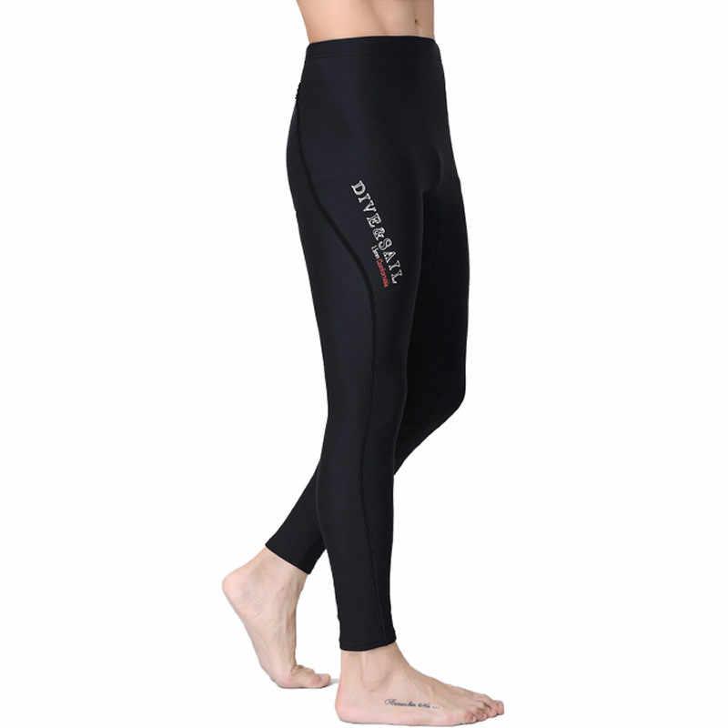 Men Winter Neoprene Wetsuit Trousers Surf Scuba Dive Diving Warm Pants M