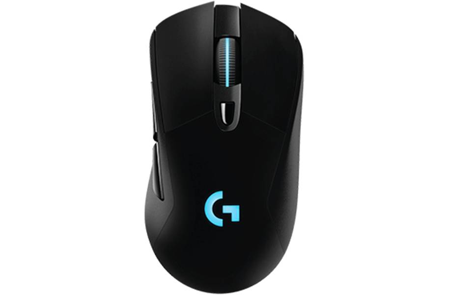 Logitech G403 Wired/2.4G wireless Gaming <font><b>Mouse</b></font> <font><b>12000DPI</b></font> RGB weightable ergonomics image