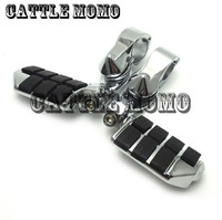 32mm (1 1/4)(1.25) 360 degree Adjustable Short Highway Motorcycle Foot Pegs Foot Rests Footrest For Shadow Goldwing GL1800