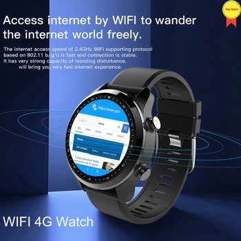 """4G Android 6.0 OS smartwatch Bluetooth 1.3"""" Touch Screen 2GB+16GB IP68 Waterproof MT6737 GPS WIFI Business use Smart Watch Phone"""