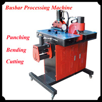 Busbar Processing Machine For Punching Bending And Cutting Function DHY-200 220V