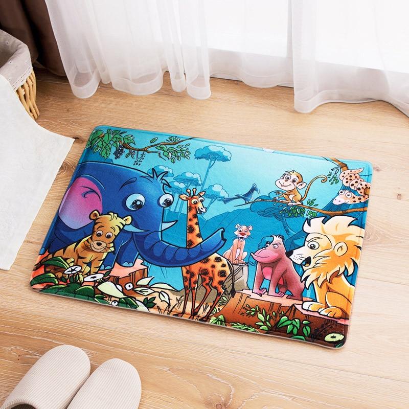 Alfombra 3D Alfombra de piso de dibujos animados de alta calidad para - Textiles para el hogar