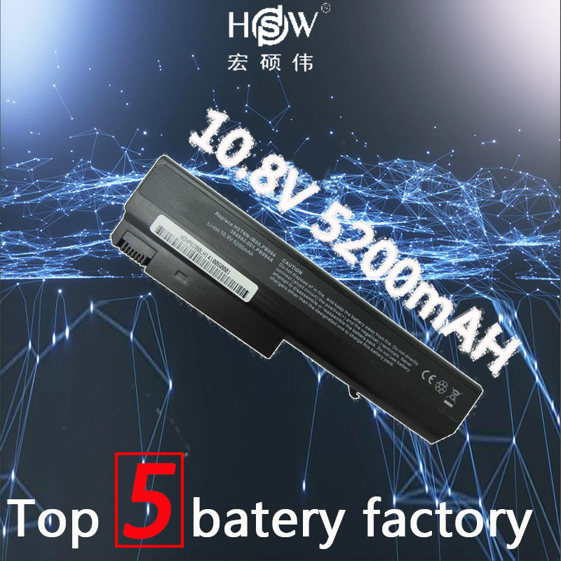 HSW 5200MAH Laptop Battery For Hp Compaq 6910p 6510b 6515b 6710b 6710s 6715b 6715s NC6100 NC6105 NC6110 NC6115 NC6120 batteria цены