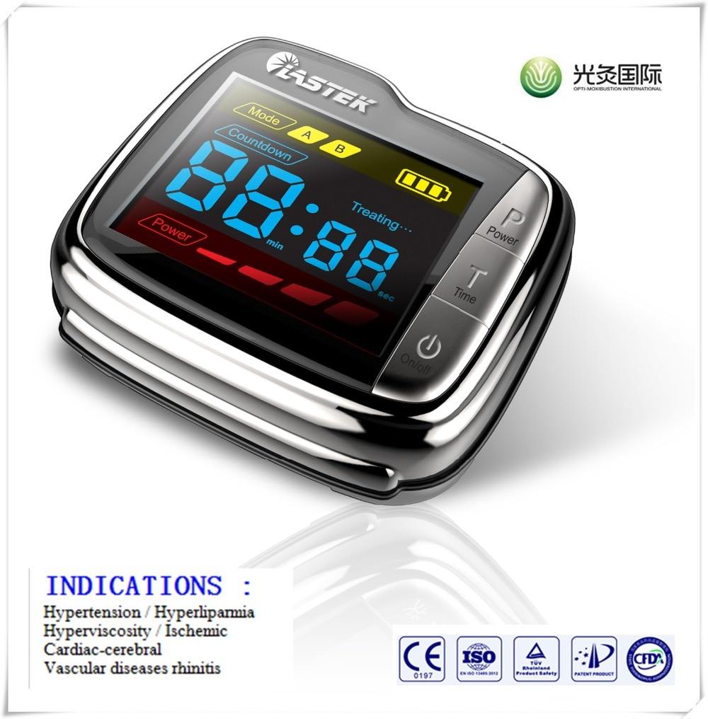 2016  aliexpress wrist pulse laser blood purifier anti diabetes equipment aliexpress v