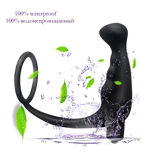 Male Prostate Massager Anal Vibrator Butt Plug for Men