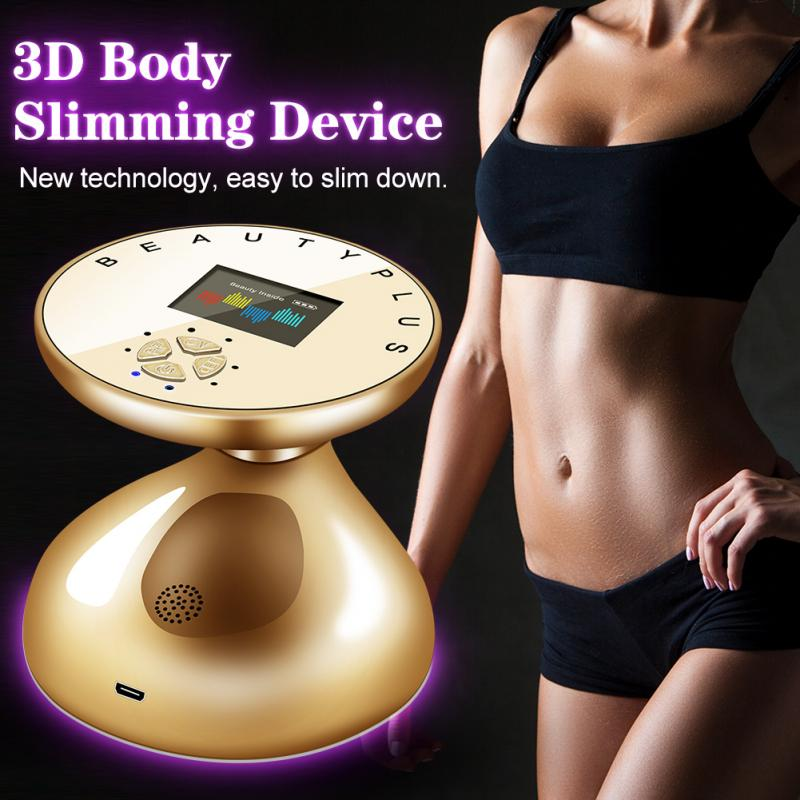 RF LED Ultrasonic Body Slimming Massager Skin Lifting Rejuvenation Fat Burner Removal Anti Cellulite Slimming Tightening Tool