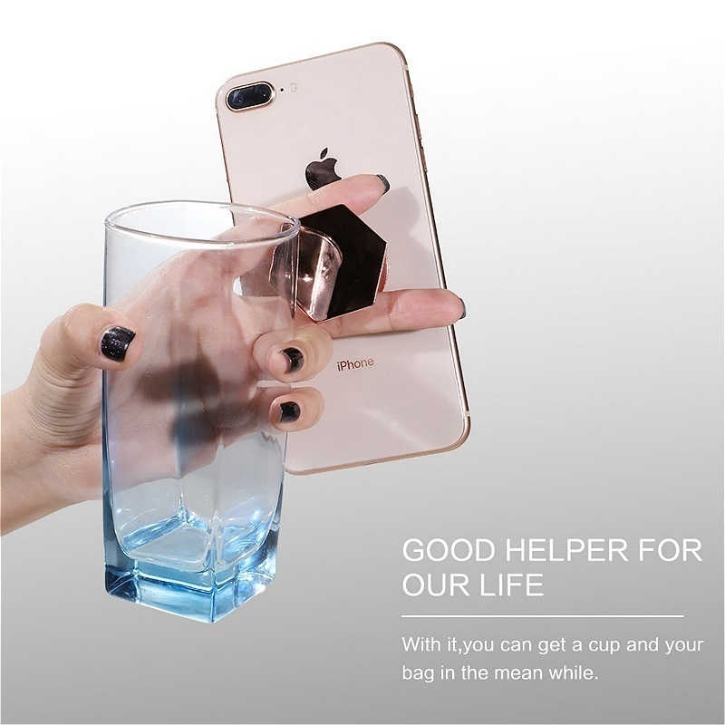 Мобильный Зажим для телефона держатель чехол для iPhone X XR XS Max 8 7 6 6 S Plus 5 5S SE huawei P20 Pro Коврики 10 20 Lite аксессуары задняя крышка