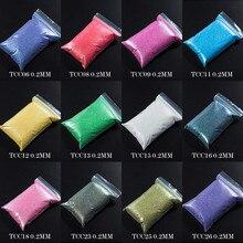 TCT-059 устойчивая к растворению переливчатая Радуга цветов Блеск для ногтей Гель-лак для ногтей украшения для дизайна ногтей украшения для боди-арта