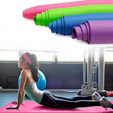 185*80*1cm None-Slip Yoga Mat Exercise Pad Thick Non-slip Folding Gym Fitness Mat Pilates Supplies Mat +Bag+Tie Band цена