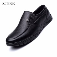 HANDL Gentlemen Shoes Genuine Leather Men Flats Businessmen Leather Shoes Male Oxfords Zapatos Hombres Father Men
