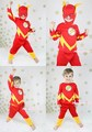 XMAS Christmas Gift The Flash Hero Outfit Boys Kids Party Costume Present 2-7Y