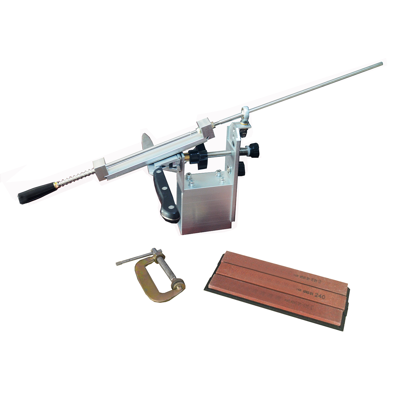 Affûteuse de couteau de cuisine mise à jour du système professionnel Pro apex afilador cuchillo ferramentas KME avec 3 pièces whetstone 240 600 1200 #