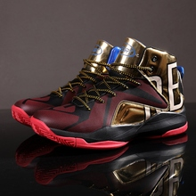 Basketball Shoes High Top Quality Sneakers for Men Male Street Culture Sports