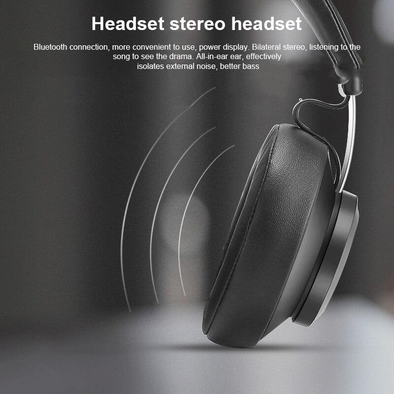 2019 Hot Bluedio bluetooth Smart casque Support musique appelant batterie affichage bluetooth oth5.0 écouteur pour DOY - 4