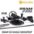 2019 SRAM SX EAGLE 1x12 12-speed MTB Groupset Kit DUB триггерный переключатель передач задний переключатель коленчатая цепь с NX кассетой