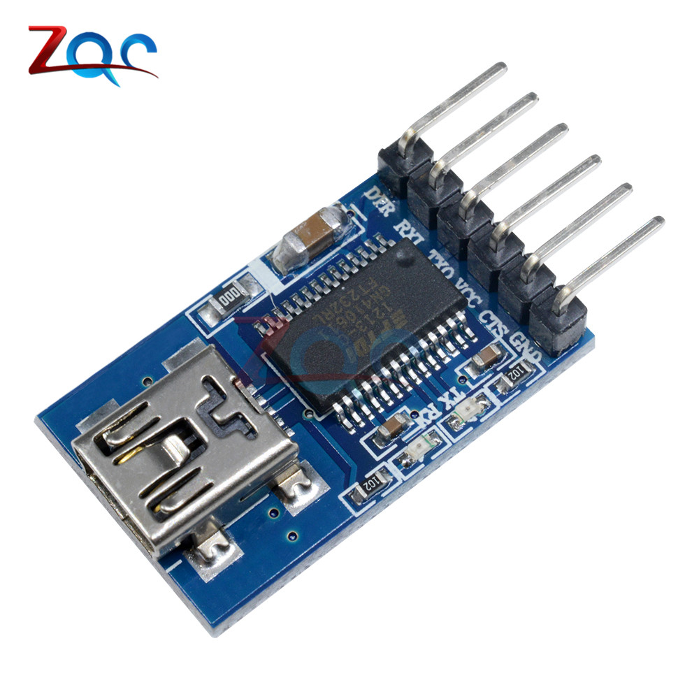 3.3V 5.5V FT232RL FTDI USB to TTL Serial RS232 Max232 Adapter Module for Arduino Mini Port Download Module digital usb oscilloscopes 20mhz hantek 6022bl shipping russia portablepc 16channels logic analyzer car detector 2channels