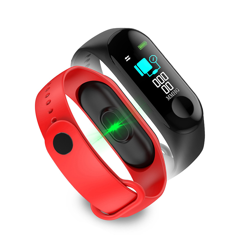 Smart watchs sports wristband touch control health monitoring information push pedometer heart rate monitoring clock photography in Smart Wristbands from Consumer Electronics