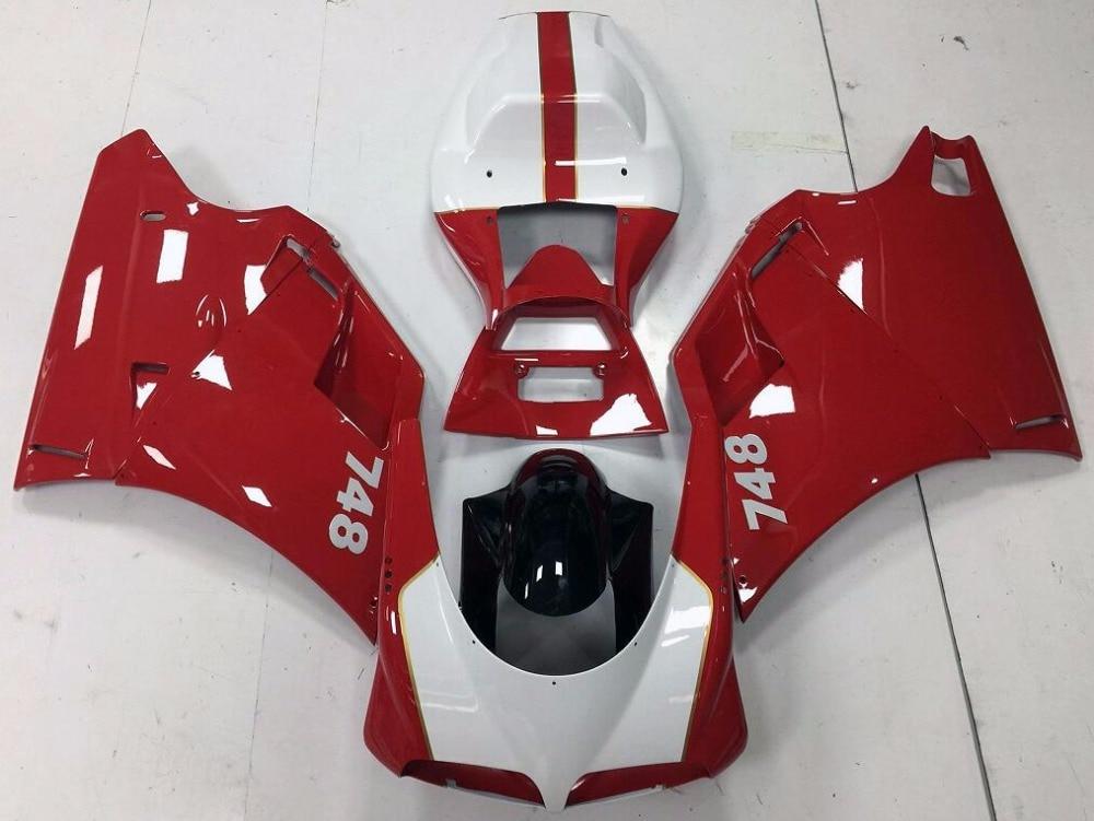 Лидер продаж, мотоцикл корпусов для Ducati 996 748 1996 1997 1998 1999 2000 2001 2002 Спорт мотоциклов обтекателя Kit (литья под давлением)