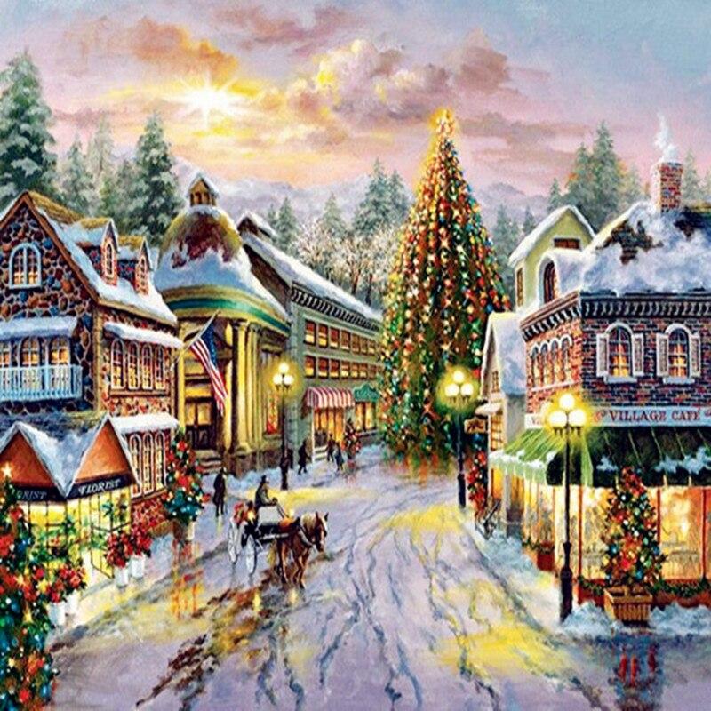 5d diamond painting christmas