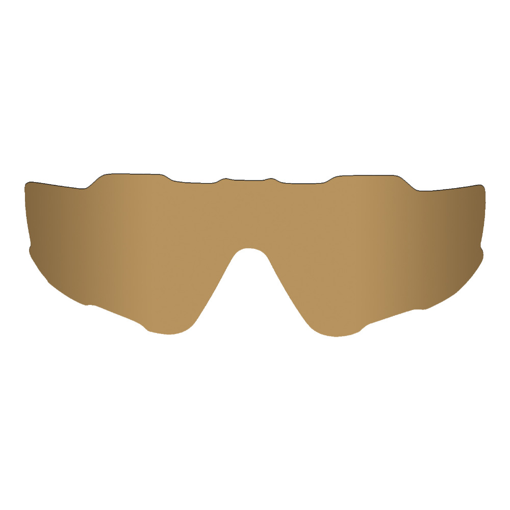 209a309add Mryok POLARIZED Replacement Lenses for Oakley Jawbreaker Sunglasses Bronze  Gold