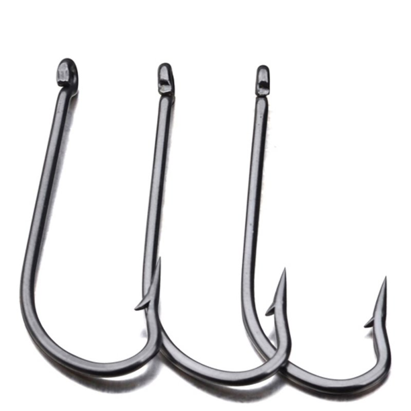 50 PSC/Lot Lead Head Hook Pesca Hook Jig Big Fish Hook 9255-1#-8/0# JIG Hook