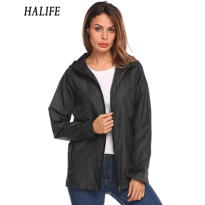 Online Get Cheap Women Black Rain Jacket -Aliexpress.com | Alibaba ...