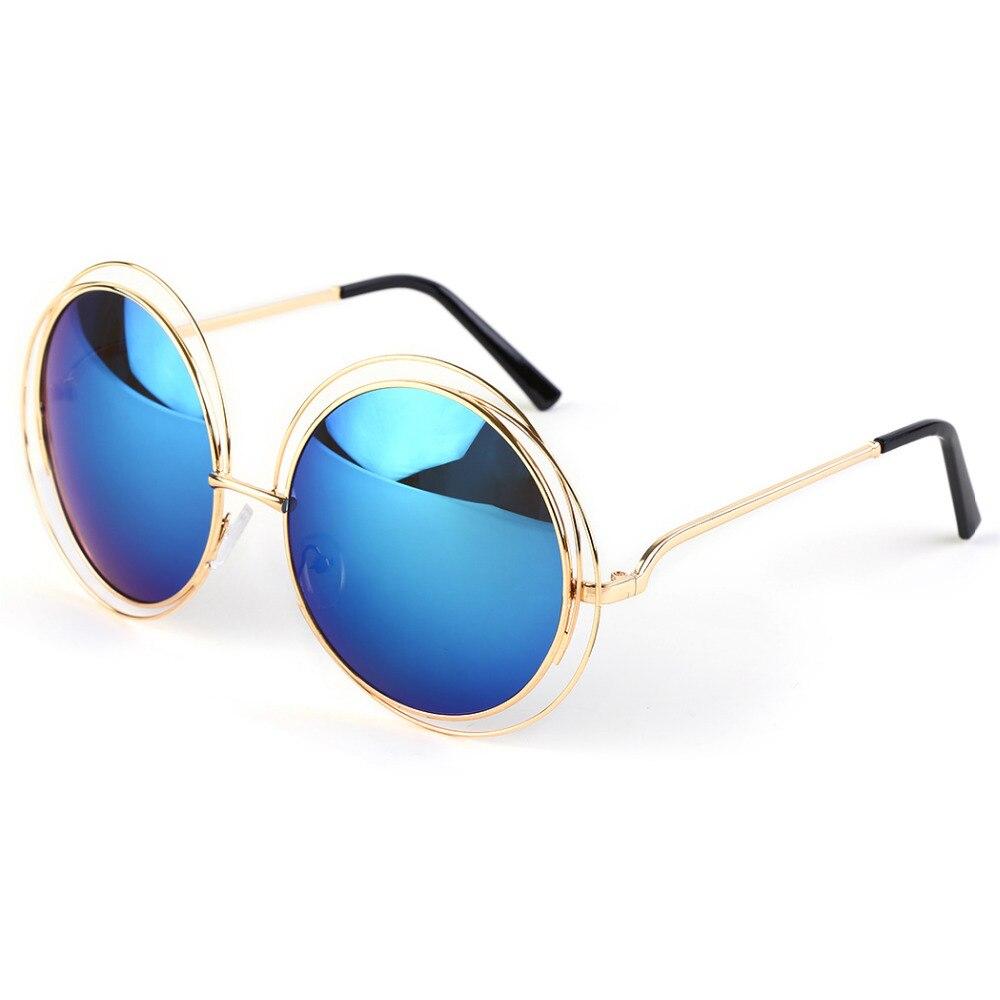 efac5840a 2017 Vintage Retro Rodada óculos de Sol Homens Steampunk Óculos Da Moda  2017 de Design Da Marca Óculos de Sol Para As Mulheres Óculos Homens F1