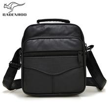 Badenroo Мужская сумка из натуральной кожи мужская сумка-мессенджер Роскошные брендовые дизайнерские сумки через плечо повседневные винтажные деловые сумки на плечо