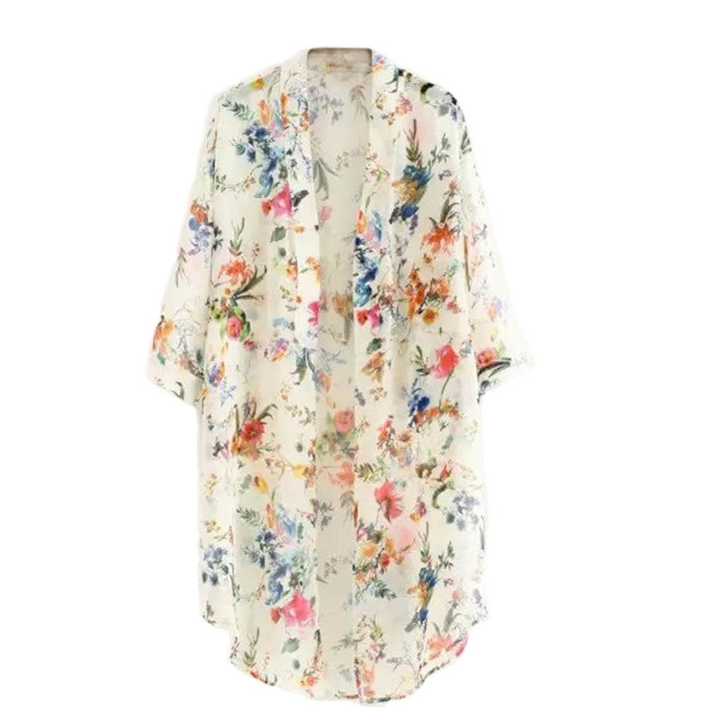 Gasa Las Del Cardigan De 2016 Sunproof Negro Summer Rebeca Cubre Baña Vm apricot Que La Bikini Mujeres Encima Capa Manera Kimono nwYnpXfq