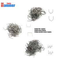 300pcs 0 8mm Staples Plastic Welder Staple For Hot Stapler Plastic Welding Machine