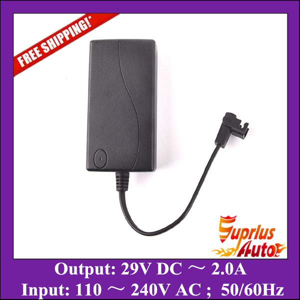 цена Free Shipping 110 to 240V AC Input Recliner Power Supply, 29V 2.0A Output AC/DC Adapter, Recliner Transformer / 100% As OKIN