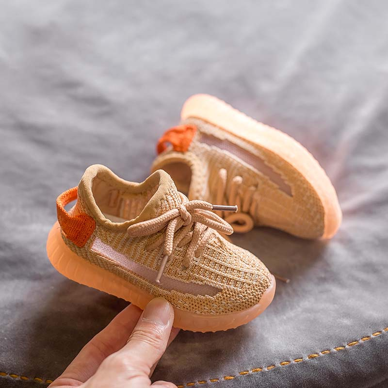 Baby Shoes 0 2 3 Years Old Baby Breathable Toddler Shoes Spring and Autumn Baby Soft Bottom Mesh Coconut Shoes